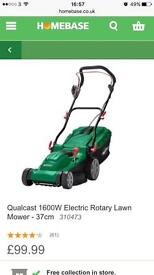 BRAND NEW IN BOX Homebase 1600w electric rotary lawn mower