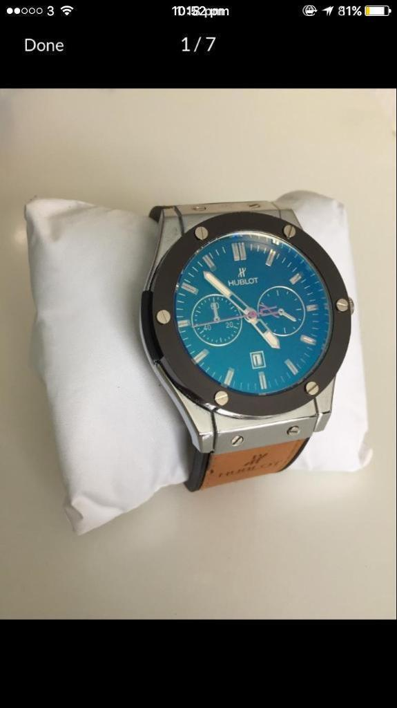 HUBLOT WATCH CHEAP A QUALITYin Ilford, LondonGumtree - Cheap hublot watch Brilliant quality ARare colour that does not sell in markets anymore LegitContact ASAP 07479070400