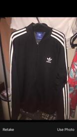Men's Adidas bomber jacket size Large