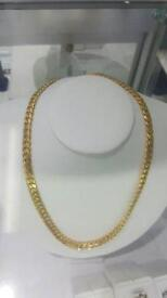 10 solid gold 162grams Miami Cuban link
