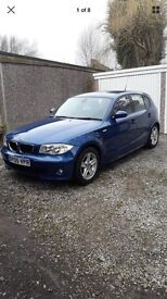 2005 BMW 116i , LONG MOT LOW MILEAGE EXCELLENT CLEAN CONDITION RECENTLY SERVICED VERY WELL KEPT