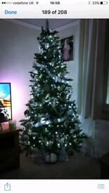 7ft Xmas tree