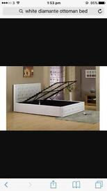 ***SOLD*** King Size Ottoman Bed £190