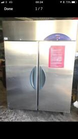 Williams stainless steel double door fridge
