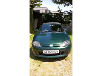 MG TF Sports 1796cc Green Convertible Manual Petrol 2002