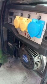 10kva generator. Used a hand fill of times 2yr warrenty