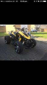 Beautiful Rims Road Legal QuadBike 250cc
