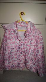 Girl's rain jacket (rain mac) 8-9 years