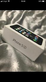 iPhone 5s 16gb VIRGIN