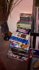 Large collection of books/annuals..cookbooks, atlases..etc etc..