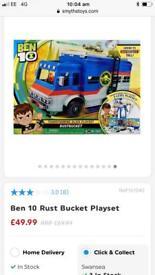 Ben 10 Rust bucket