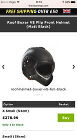 Black boxer helmet (used)