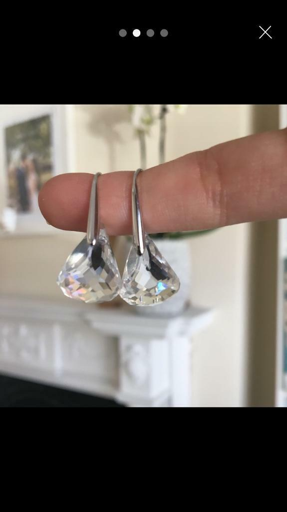 Swarovski Lunar Earrings New In Southfields London Gumtree