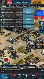 Mobile Strike 34 Bil Power Account AFMA