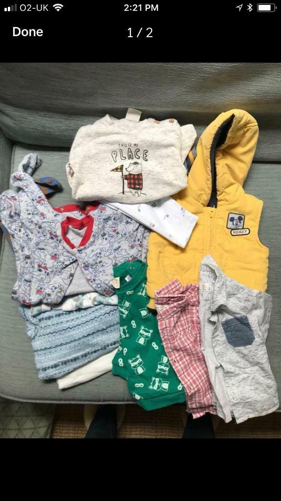 Bundle Of Baby Boy Clothes 6 12 Months In Richmond London Gumtree