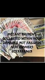 £££ cars wanted anything considered. instant payments. ££