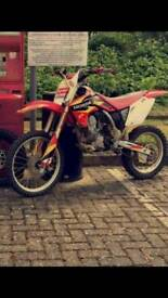 Crf150 borderd out to a 163 2008 model
