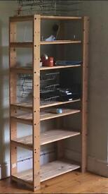 Wooden shelf / bookcase