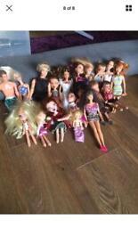 Barbie bratz house, car bundle