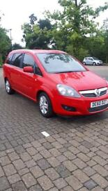 Vauxhall's zafira 2010