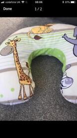 Baby feeding ring / support cushion