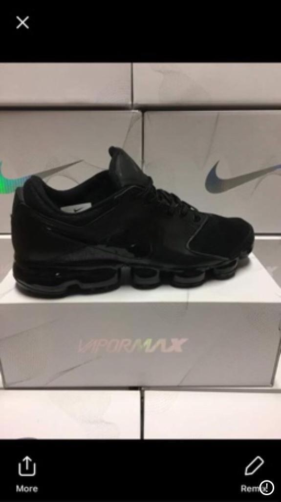 72941e43289 Nike vm Tn vapormax vms tns New In Box all black airmax plus    reduced for  weekend only