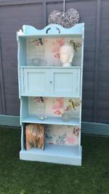 Solid Wood Bookcase Shabby Chic