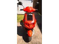 ITALJET FORMULA 125cc TWIN CYLINDER SCOOTER ••