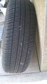 brand new tyre and rim 175/70r/13
