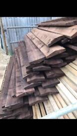 Treated copeing wooden tops £4 each