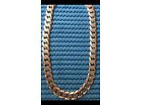 Stunning 3oz 9ct gold curb chain