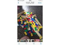 Blocks wooden toys