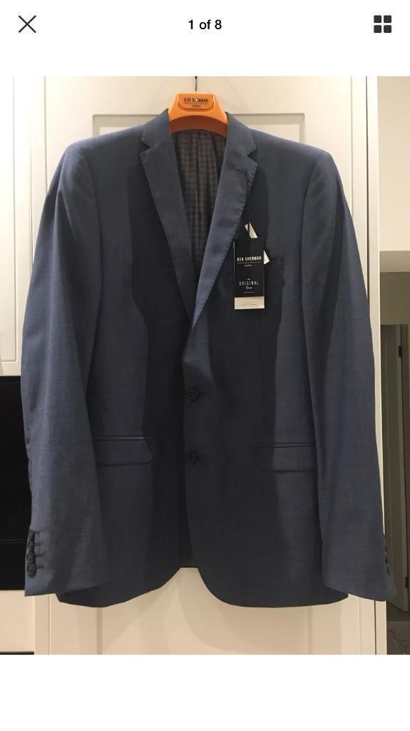 New Ben Sherman Slim Blazer Jacket 42 Long