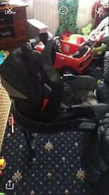 Graco car seat with Iso fix base
