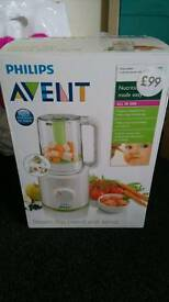 Avent all in one steamer and blender asnew was £99