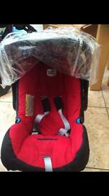 Britax car seat with rain cover
