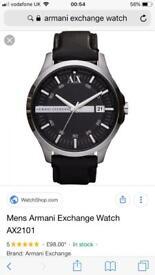 Mans Armani watch
