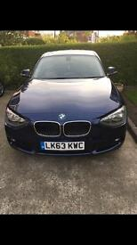 BMW One series 3013 - 63 Blue Diesel 5 door