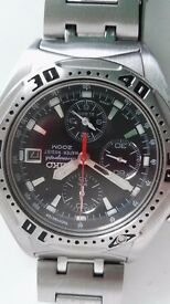 SEIKO mens alarm chronograph lovely watch