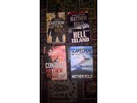 Matthew Reilly Books x 4