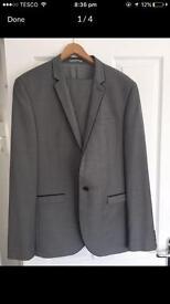 Grey next suit