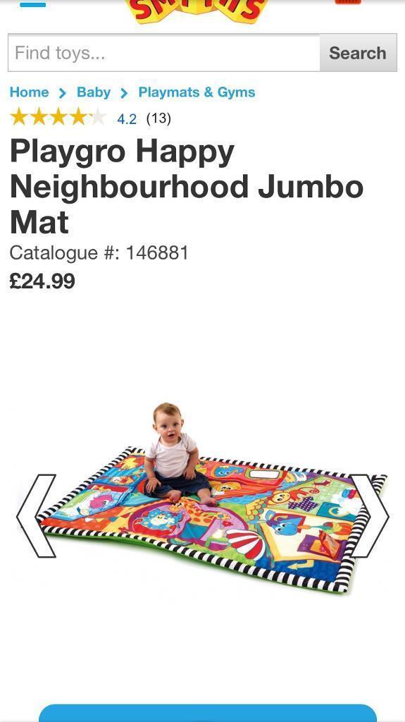 Playgro play mat