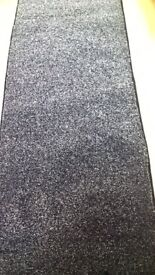 New black rug hall runner size is 7 ft 10 ins x 2 ft 3 ins. £15