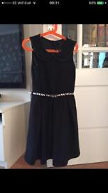 Next belted dress age 10-11 good condition