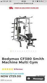 Bodymax multi gym + weights + extras