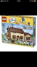 Simpson's Lego House