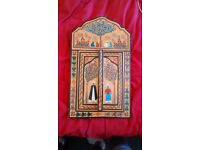 Moroccan Mirror - Hand Painted