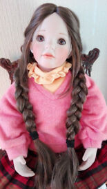 porcelain doll katherine by celia doll limited to 100