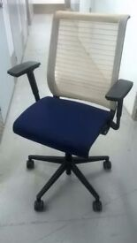 Steelcase Think task chairs and visitor chairs (£500 new) excellent central London bargain
