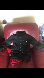 Jules quilted kids jacket 9/10 years